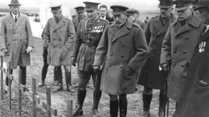 Fabian Ware with George V
